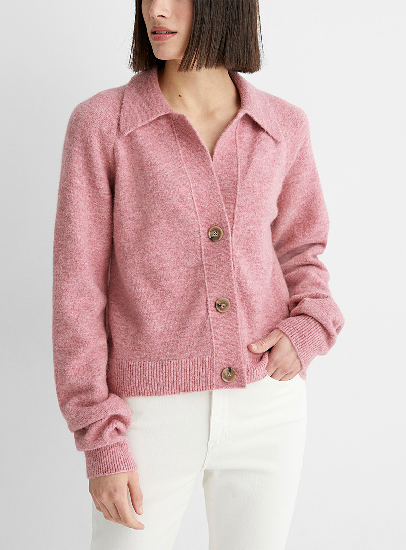Nanushka Pink Cade cardigan for women