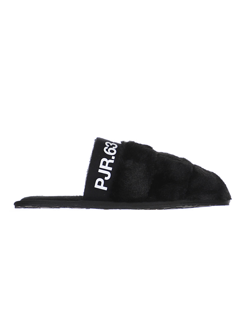 Pajar Canada Black Stewie mule slippers  Men for men