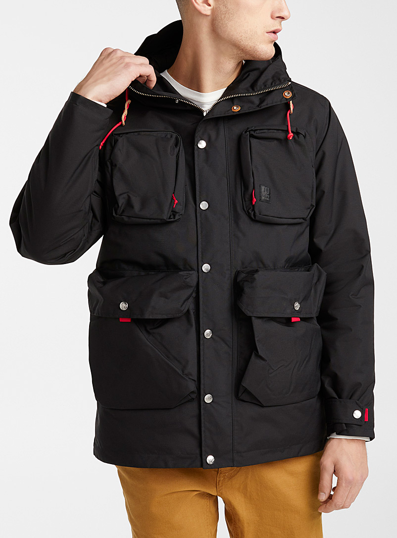 Le manteau Mountain éco imperméable