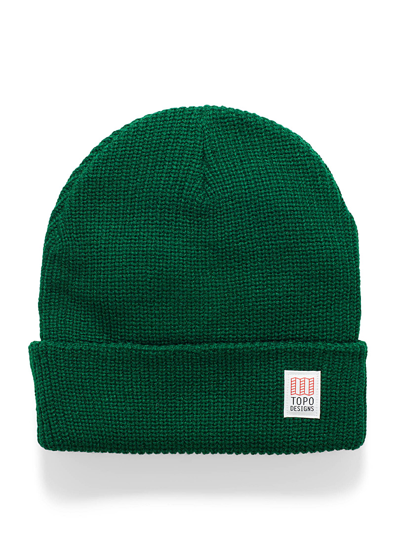 Hipster ribbed tuque