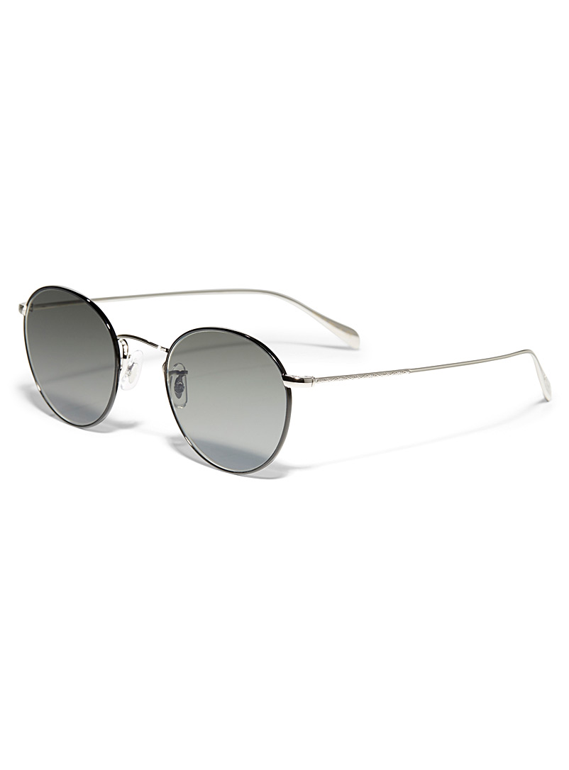 OLIVER PEOPLES Silver Coleridge sunglasses for women