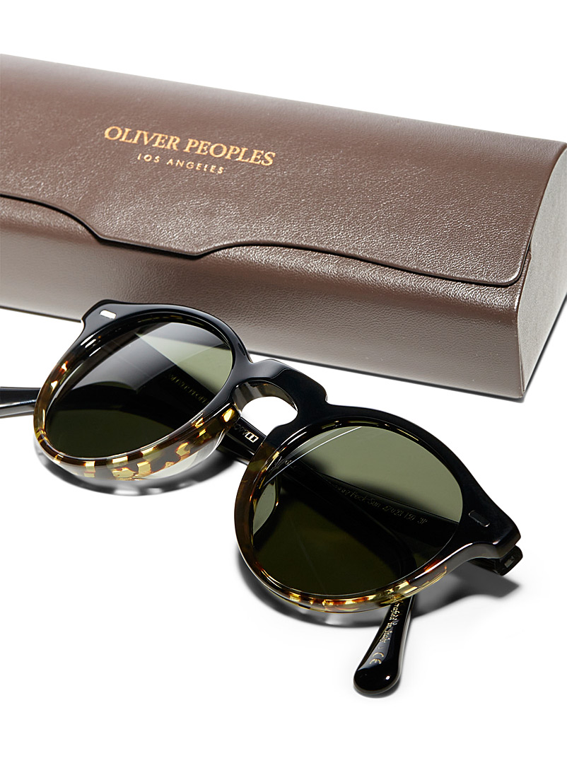 OLIVER PEOPLES Black Gregory Peck sunglasses for women