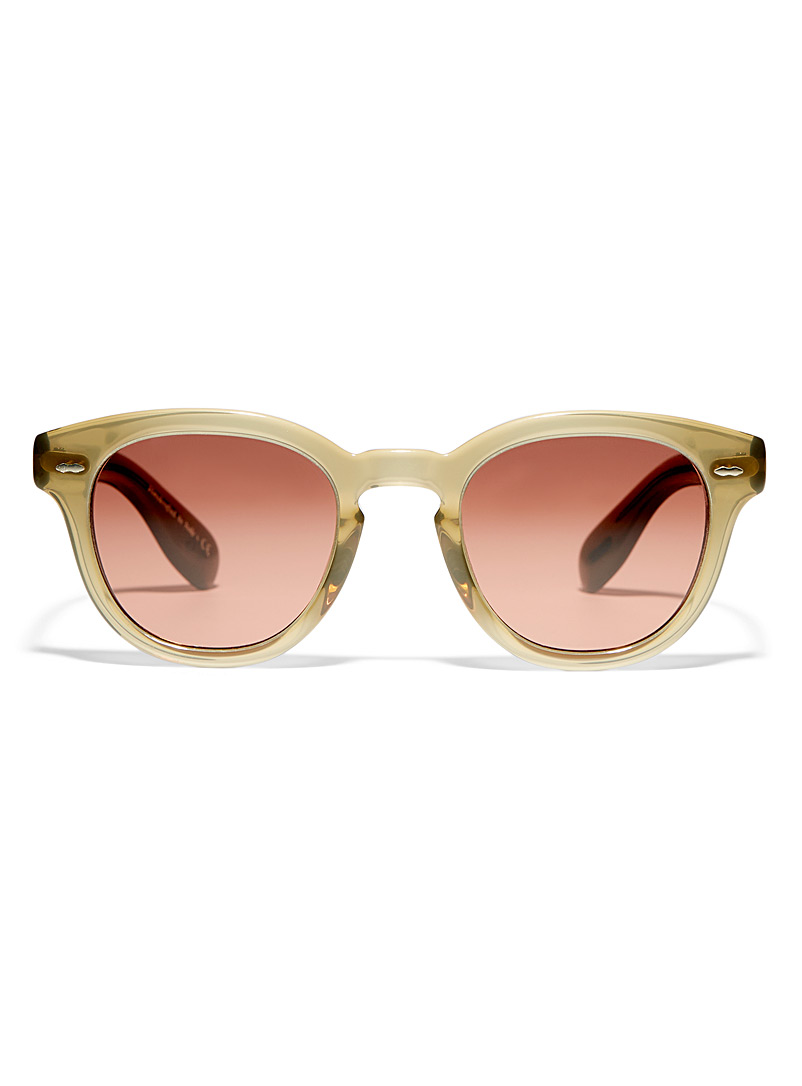 OLIVER PEOPLES Ecru/Linen Cary Grant sunglasses for women