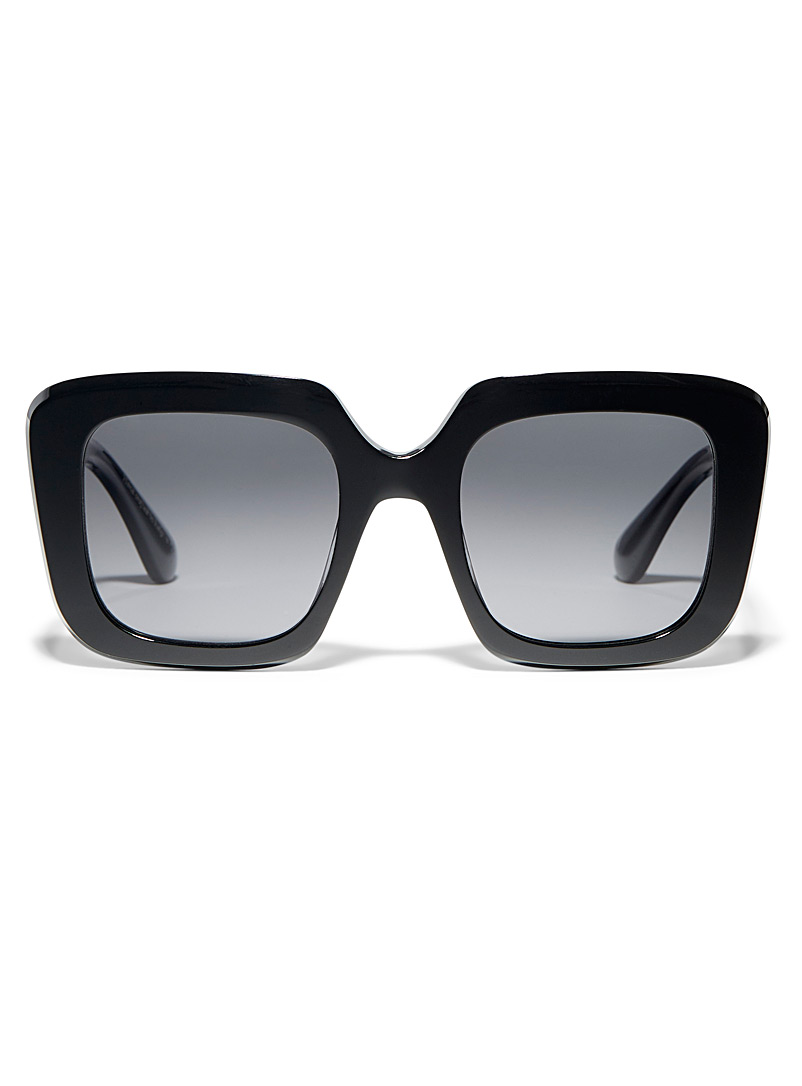 OLIVER PEOPLES Black Franca square sunglasses for women