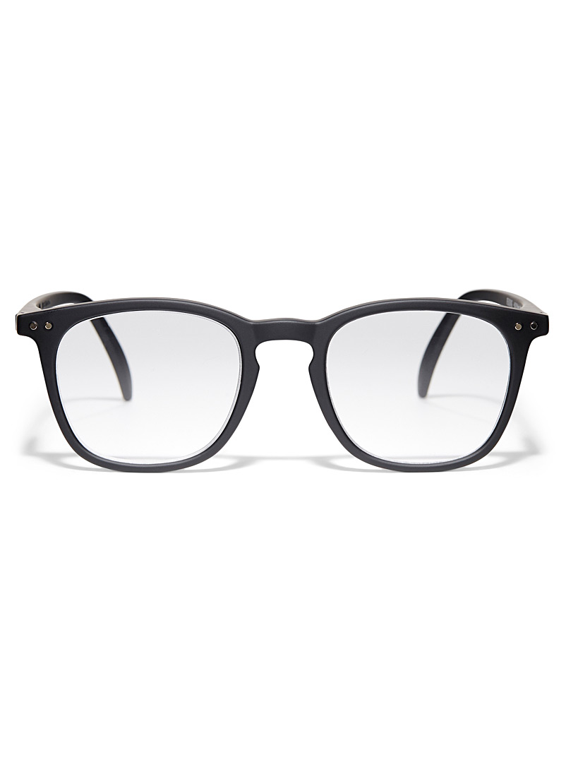 IZIPIZI Black E reading glasses for women