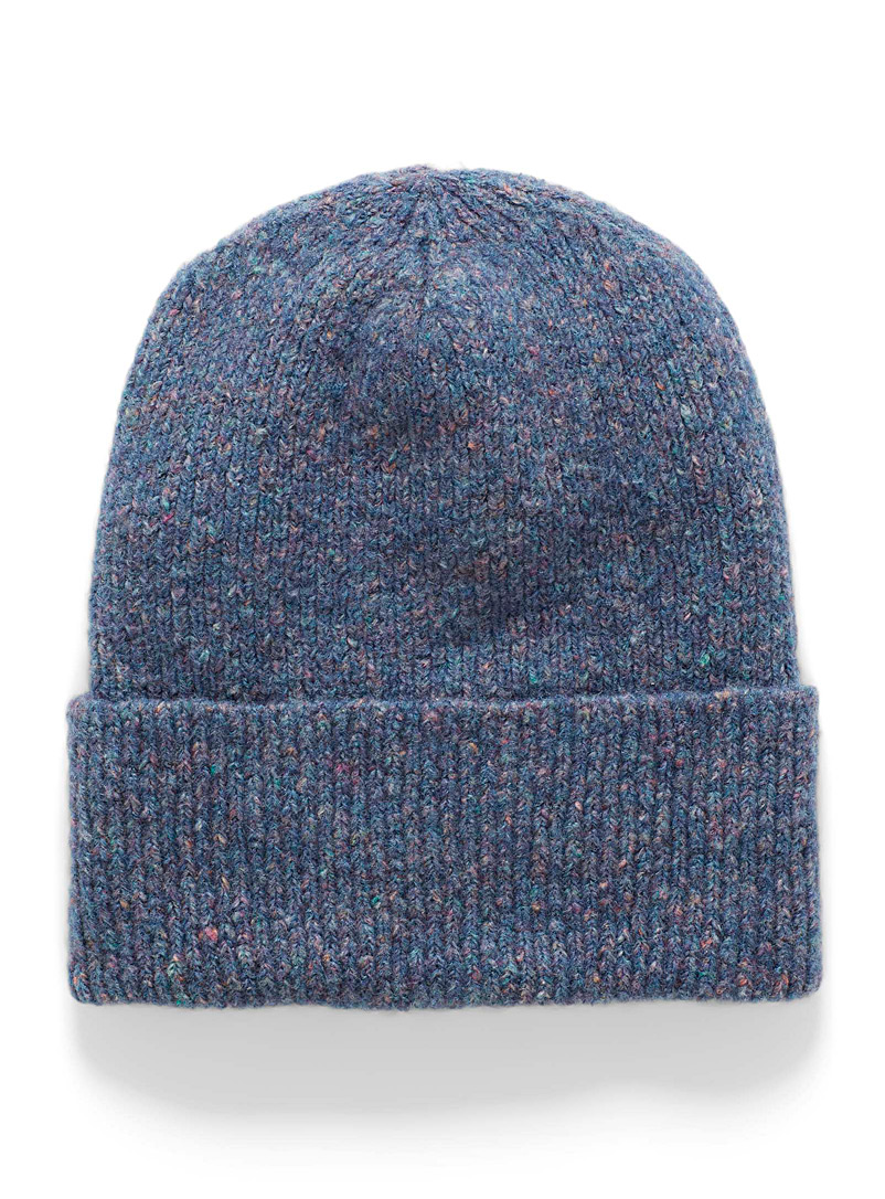 Flecked wool tuque