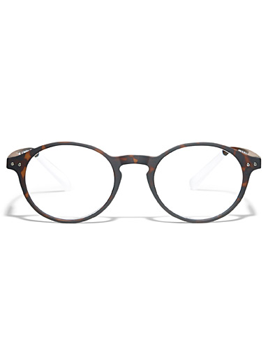 No Two round reading glasses