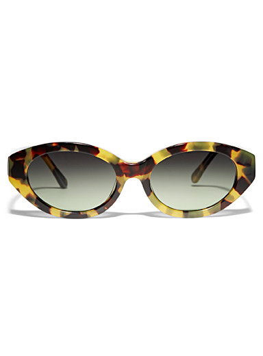 H9 oval sunglasses
