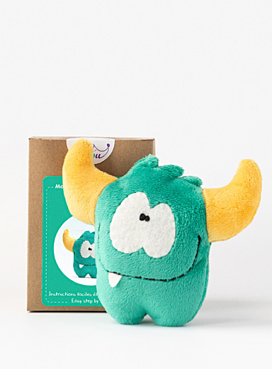 Petit Loulou Green Make Your Own Monster kit