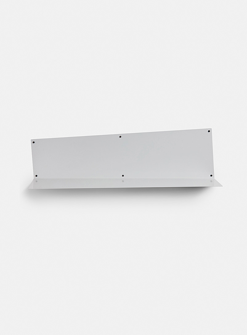 MARdiROS Light Grey Large Angle wall shelf