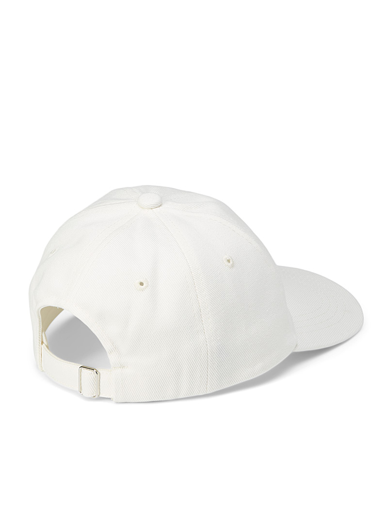 Casablanca Cream Beige Retro tennis club cap for men
