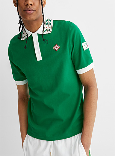 Laurel green polo