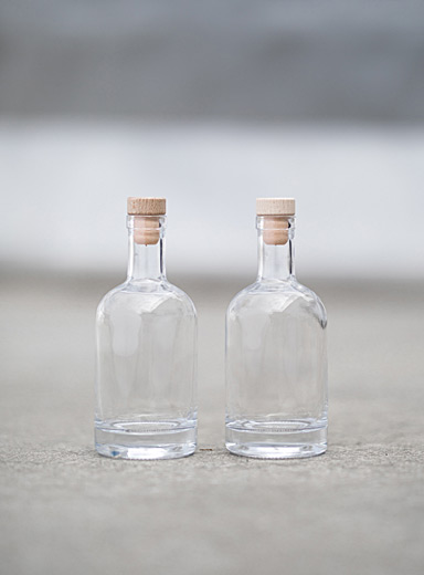 Ginius Assorted Bottles for homemade gin  Set of 2