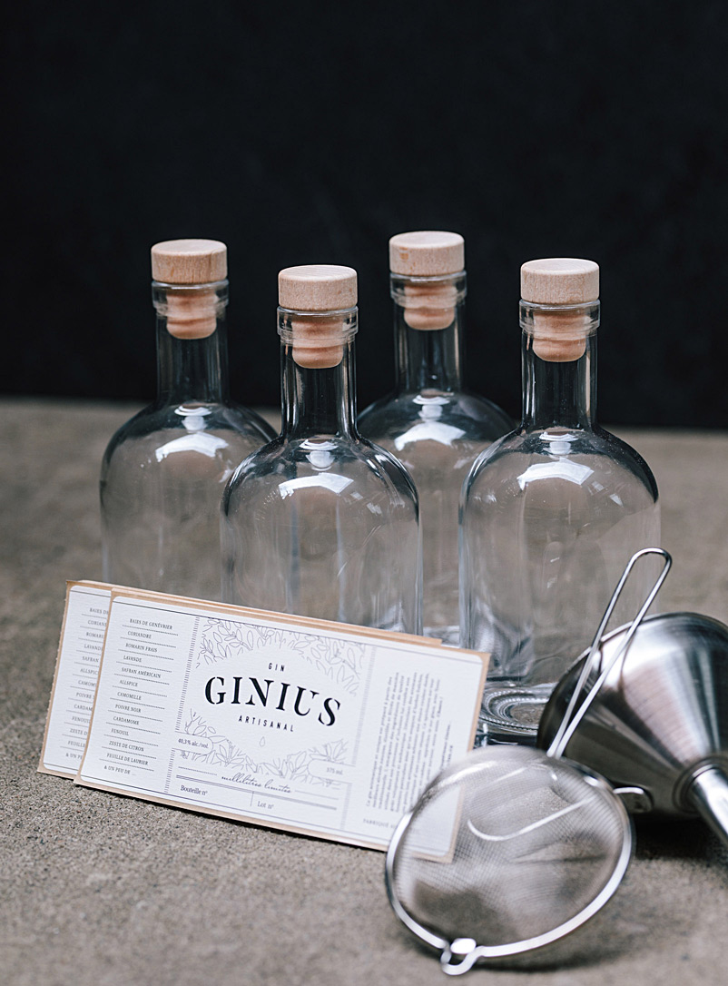Ginius Assorted Homemade gin production increase set
