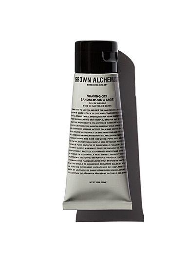 Grown Alchemist White Sandalwood and sage shaving gel for men