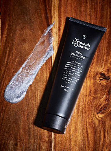 Triumph & Disaster Black Ritual face cleanser for men