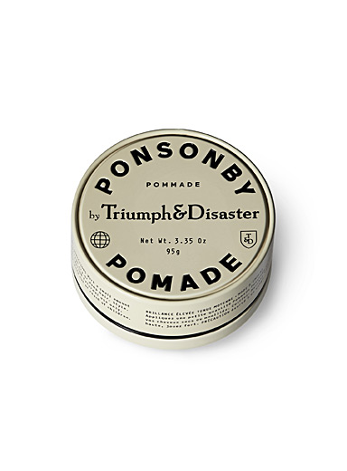 Triumph & Disaster Cream Beige Ponsonby pomade for men