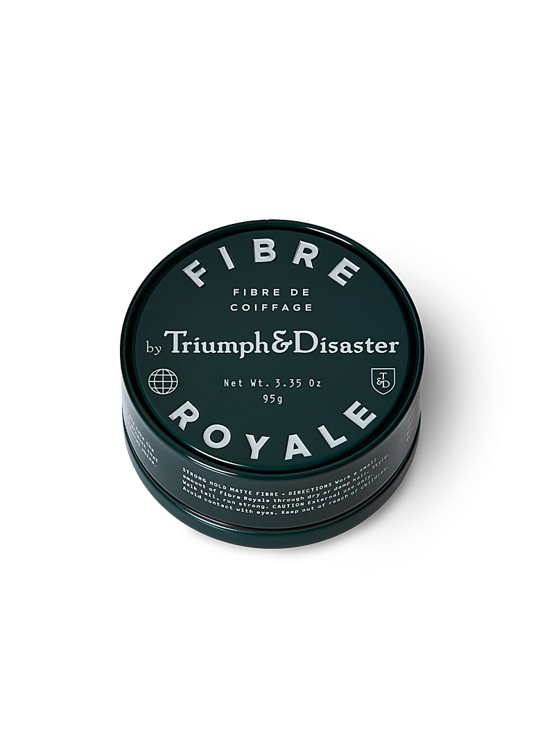 Triumph & Disaster Black Fibre Royal styling wax for men