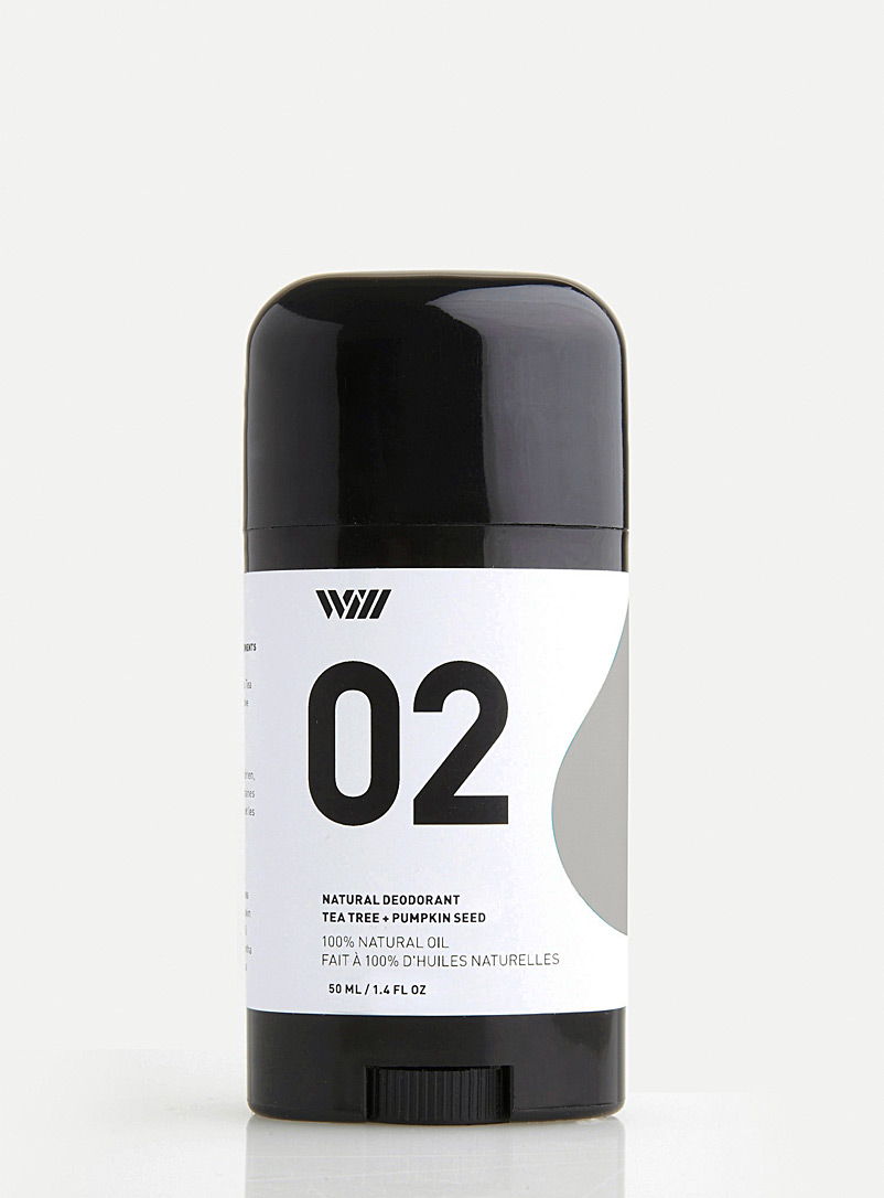 Way of Will Green Tea tree and pumpkin seed natural deodorant for men