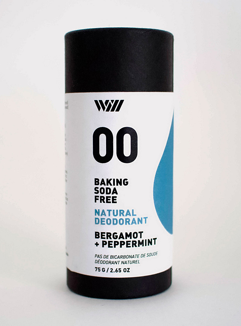 Peppermint and bergamot deodorant