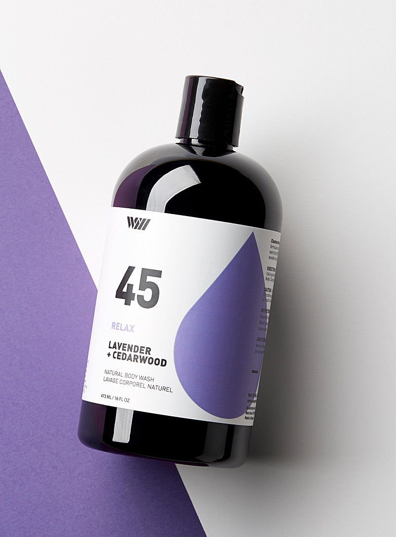Way of Will: Le gel douche Relax Mauve pour homme