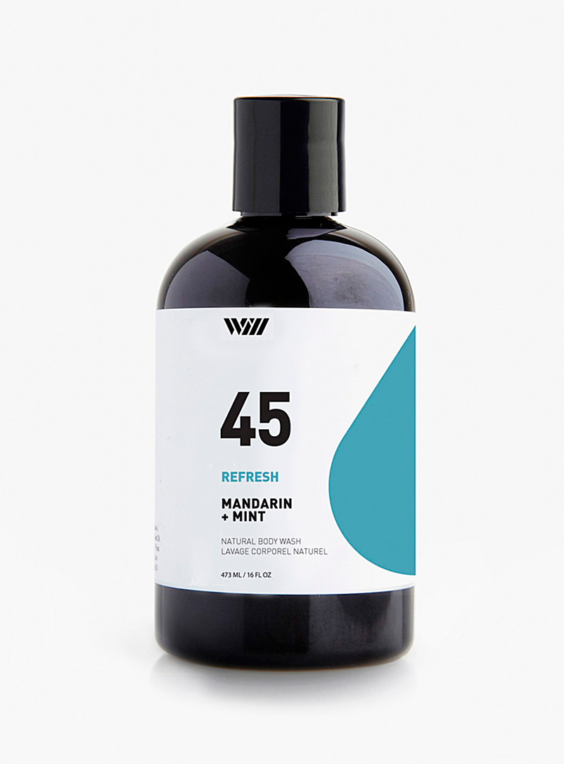 Way of Will: Le gel douche Refresh Bronze ambre pour homme