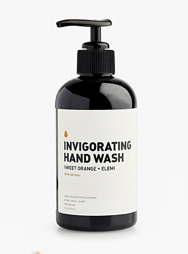 Invigorating hand soap