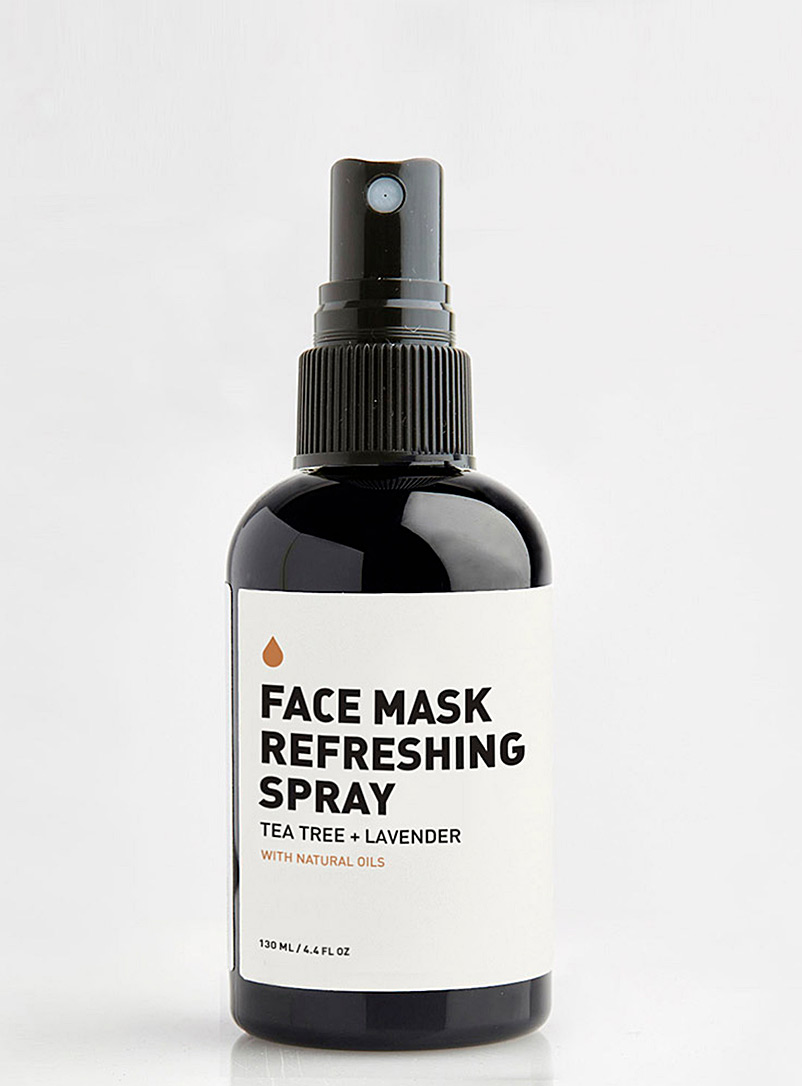 Tea tree and lavender refreshing mask spray