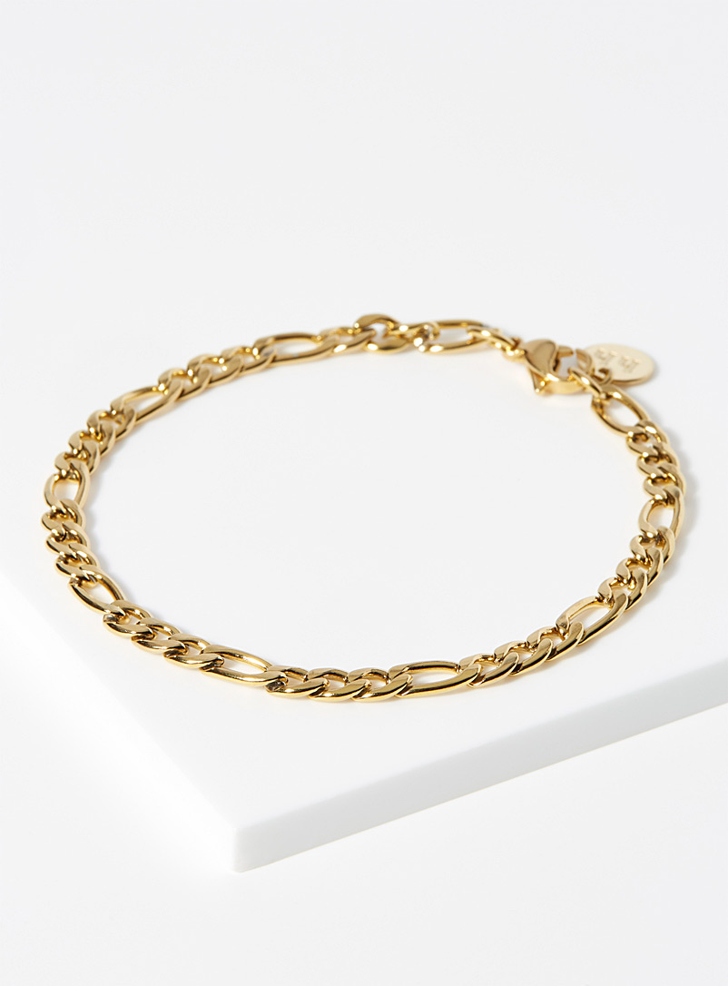 Hey Harper Gold Crete bracelet for women