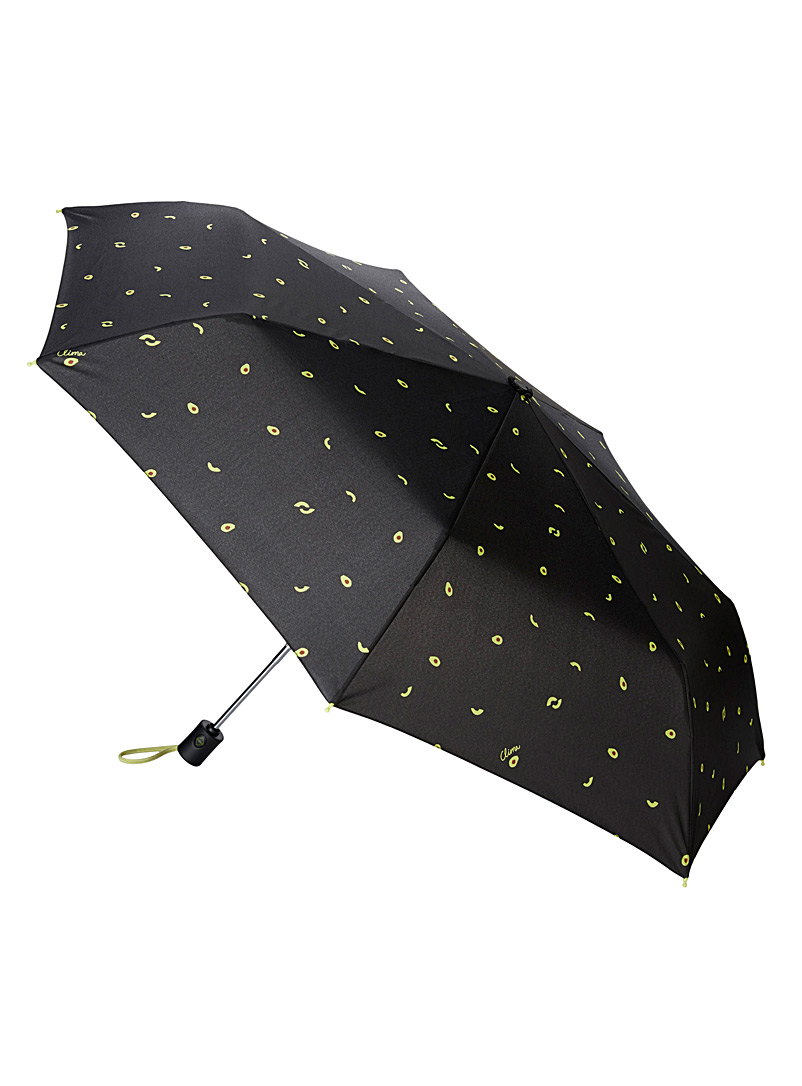 CLIMA bisetti Black Favourite fruits umbrella for women
