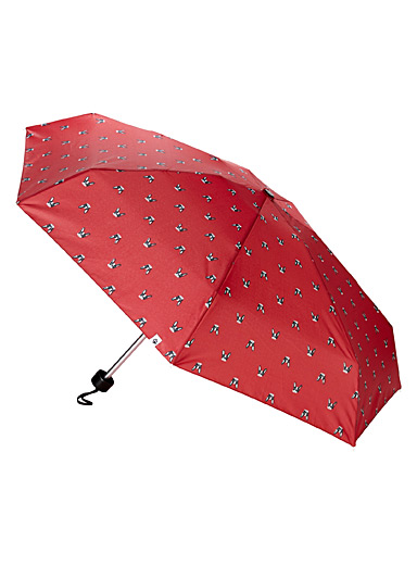 CLIMA bisetti Patterned Red French bulldog umbrella for women