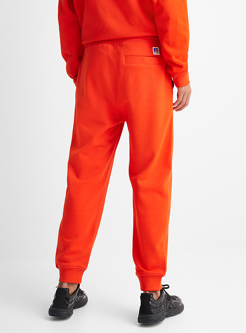 Boss x Russell Athletic: Le jogger signature sport Rouge pour homme