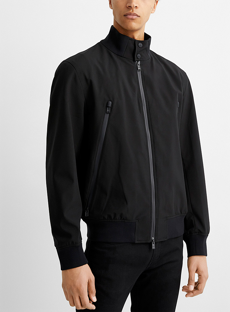 BOSS Black Cinaro water-repellent bomber jacket for men