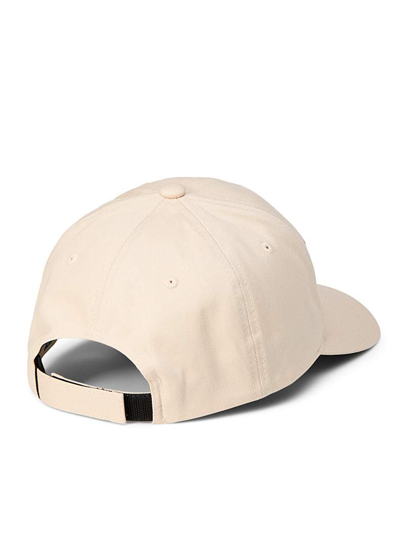 Boss x Russell Athletic Cream Beige BOSS x Russell Athletic cap for men