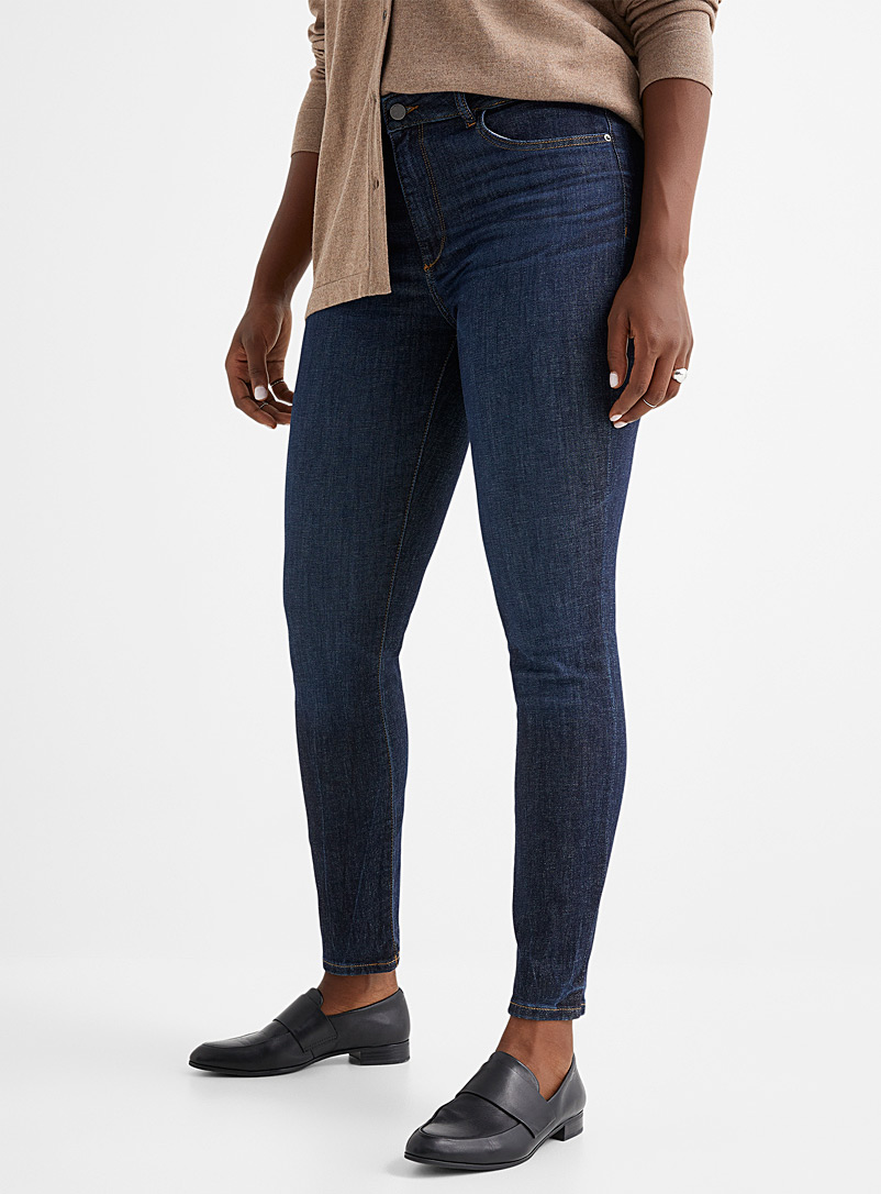 DL1961 Blue Dark indigo Florence skinny jean for women