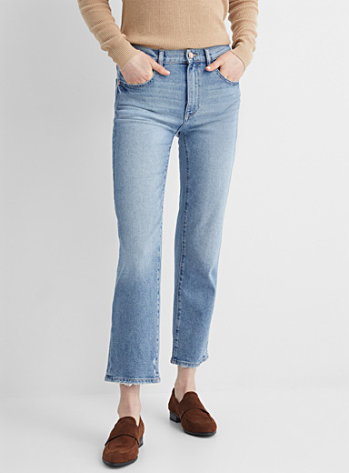 Faded Patti straight cropped jean