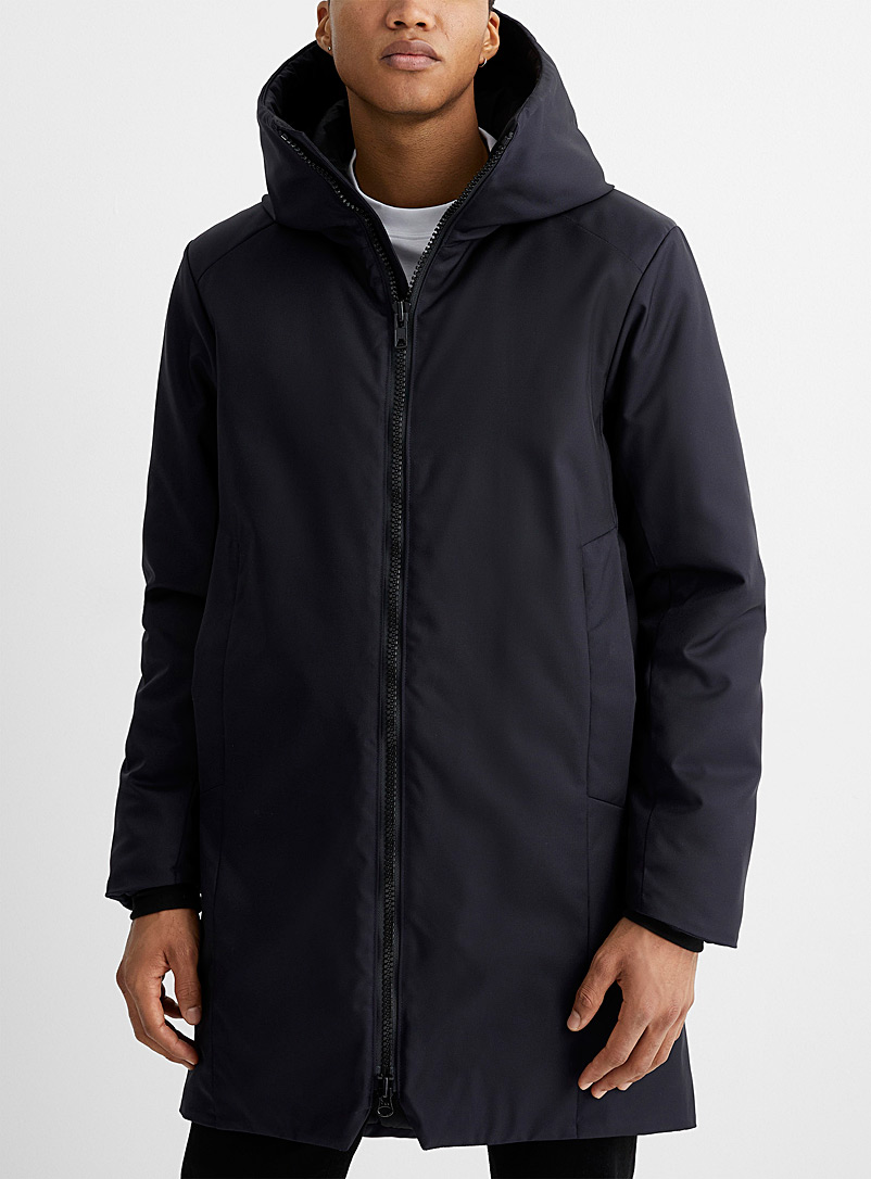 457 ANEW Marine Blue Regenerated nylon parka for men