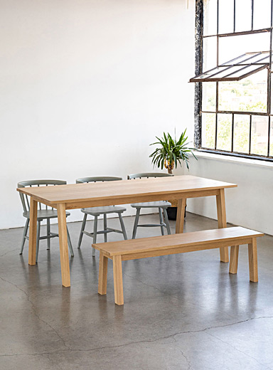 Woodstock & Cie Oak Luft table  2 lengths available