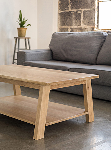 Woodstock & Cie Oak Luft coffee table