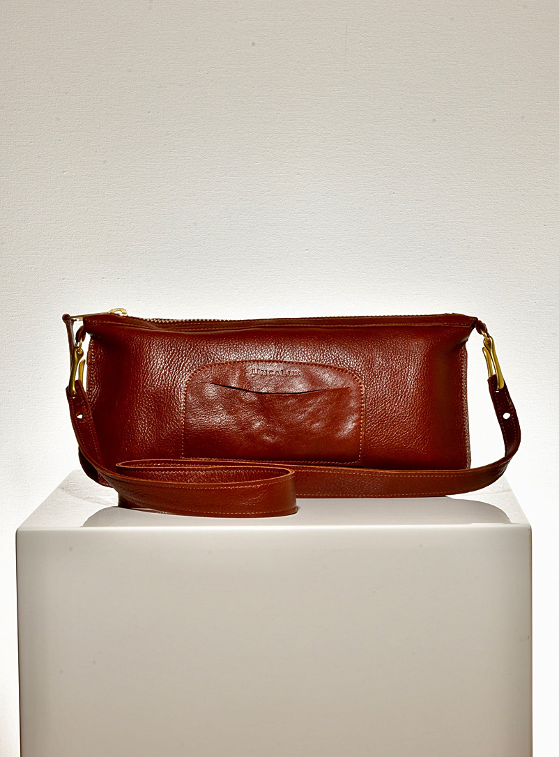 UncaLux Brown Thurlow handbag