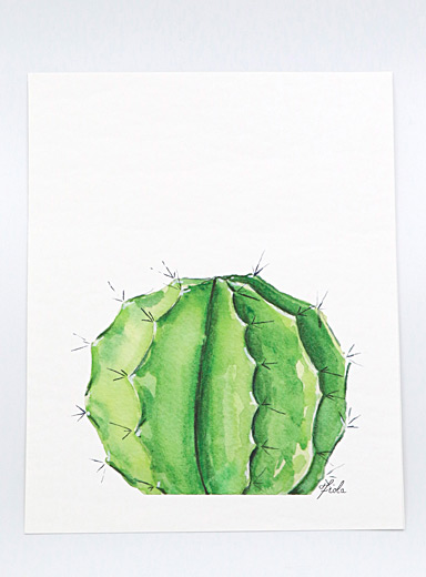 Fiola Green Globulus art print  3 sizes available