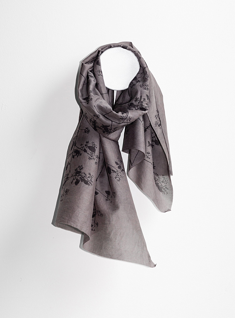 Tania Love Crimson Breeze eucalyptus scarf  Available in two sizes
