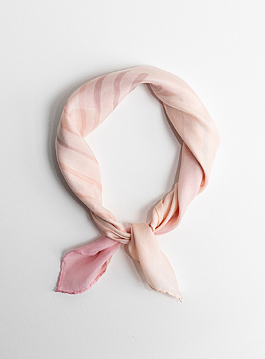 Tania Love Pink Rosy shades small scarf