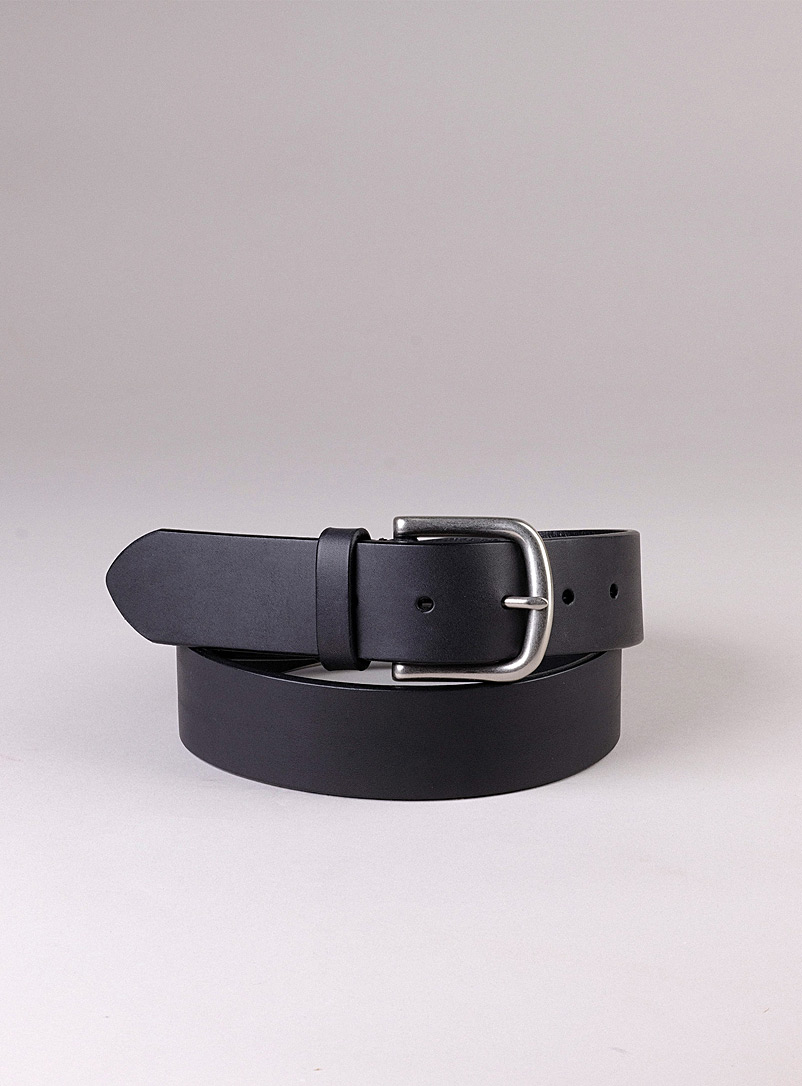 Sfalci Black Gene leather belt