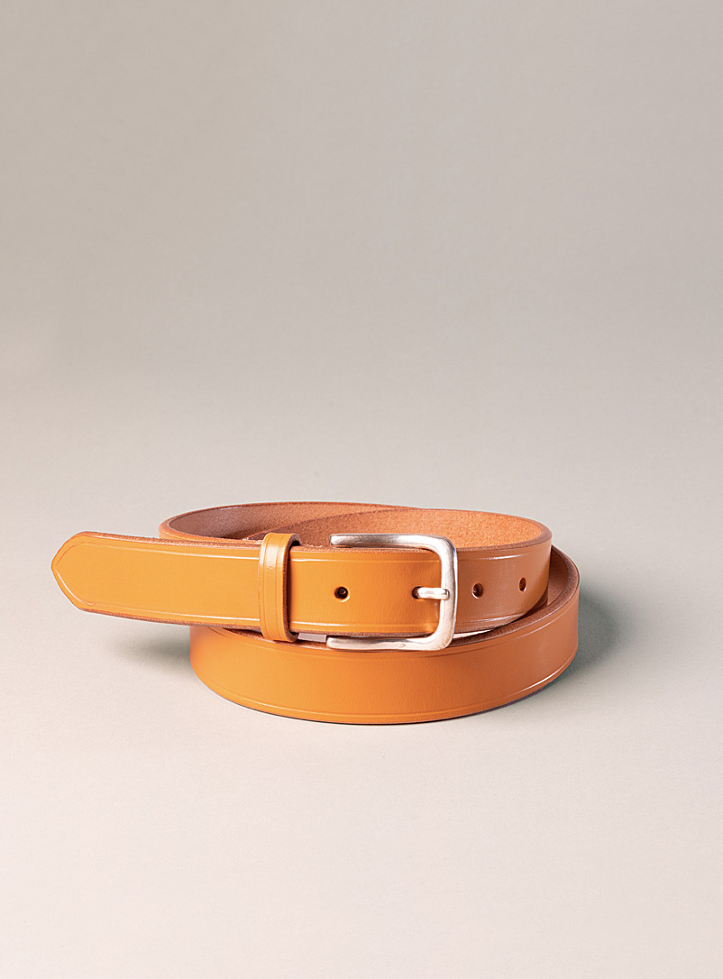 Sfalci Honey Angelo leather belt