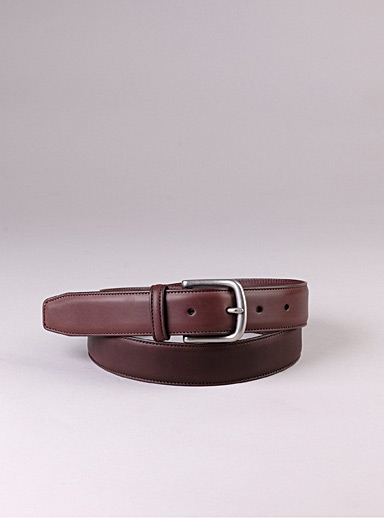 Sfalci Brown Darek leather belt