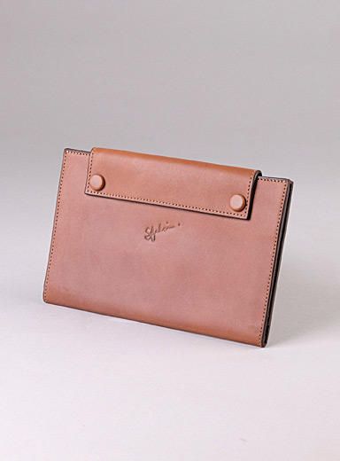 Sfalci Light Brown Très Hip leather pouch