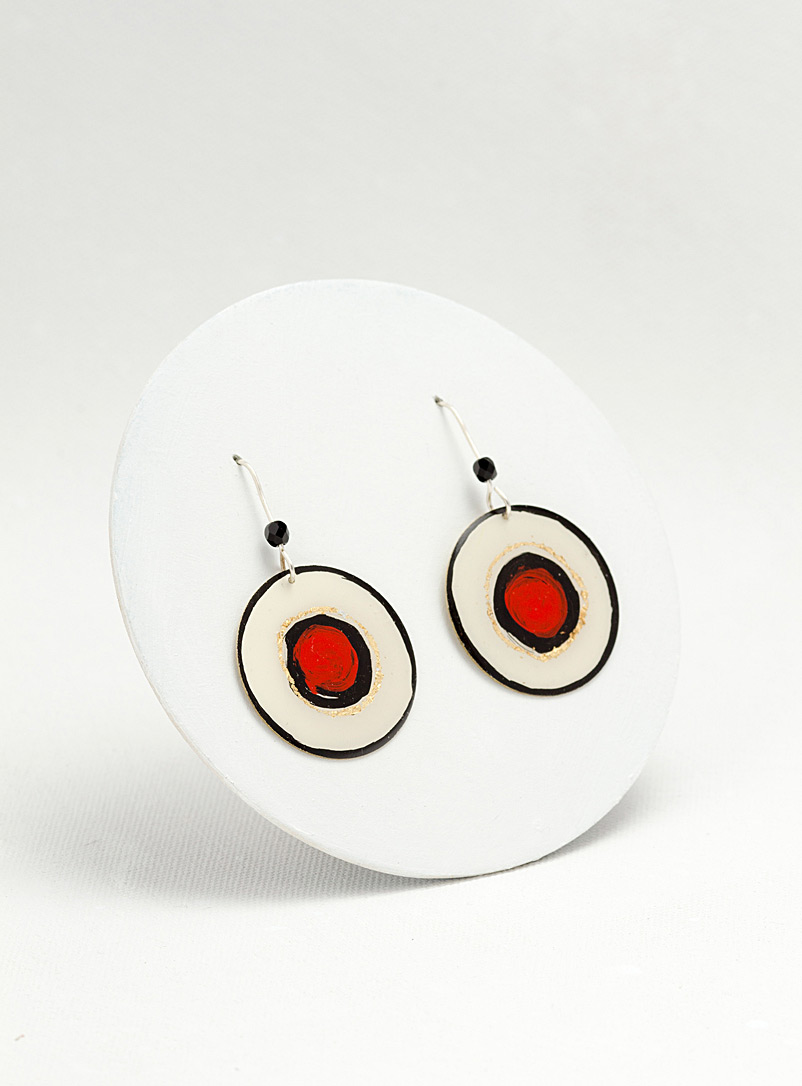 Les Joanneries Red Miro earrings