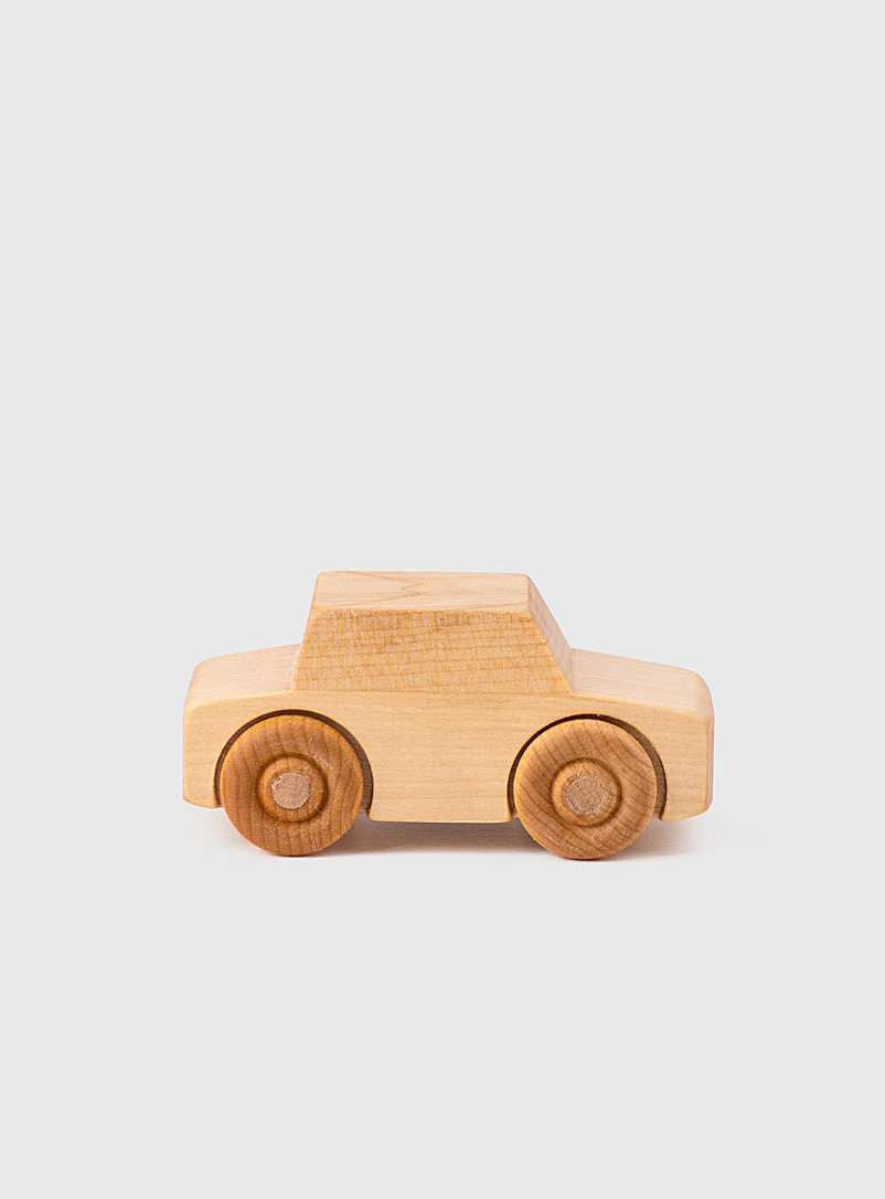 Atelier Bosc Baltic Birch Yellow birch wood little car