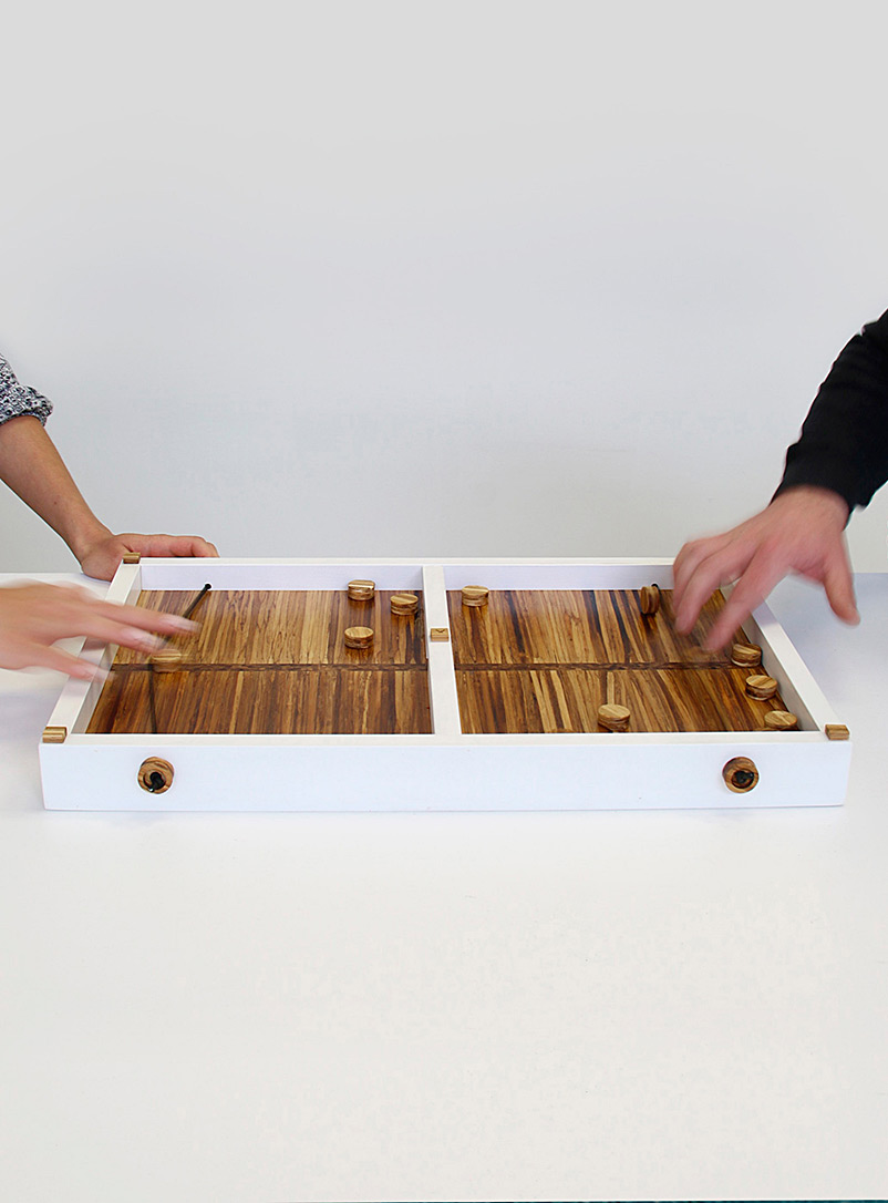 Serve and score upcycled chopsticks board